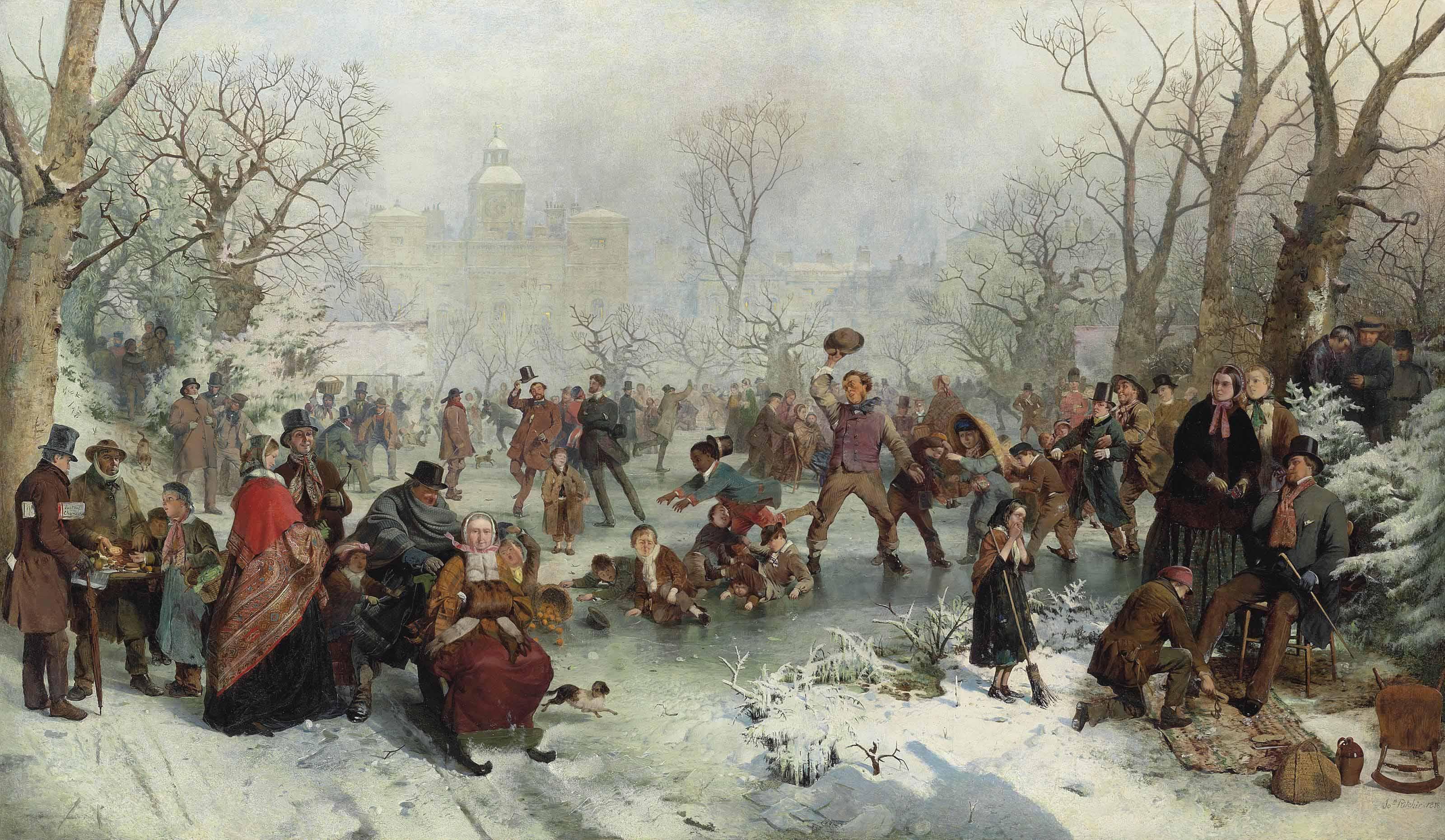 Winter, St James's Park, London