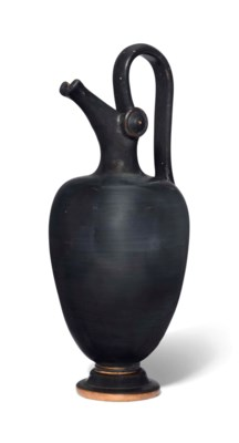 AN ATTIC BLACK-GLAZED EPICHYSI