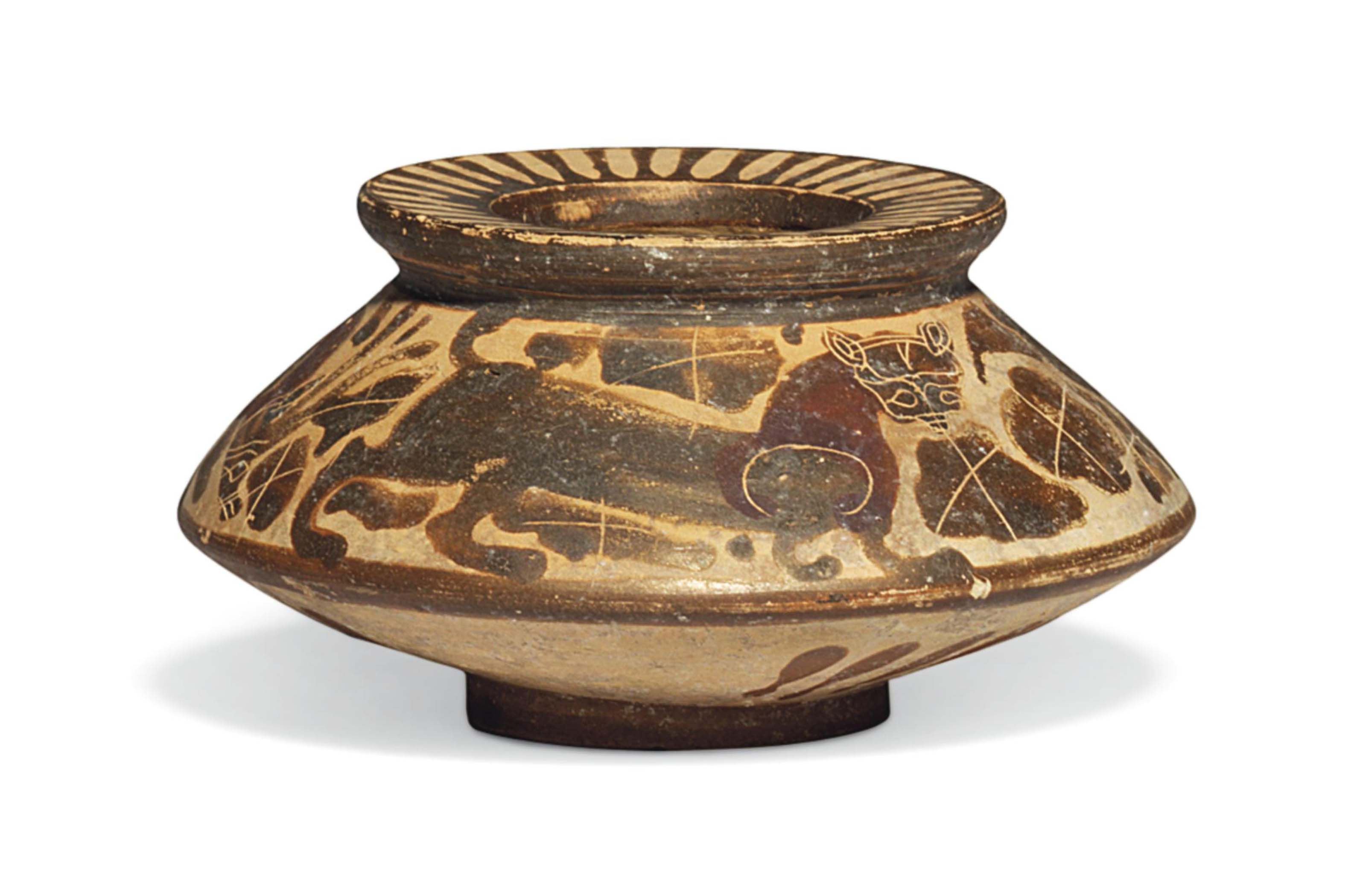 corinth black singles Black-figure pottery  john boardman emphasizes the exceptional status of exekias which singles him out  they resemble black-figure models from corinth and.