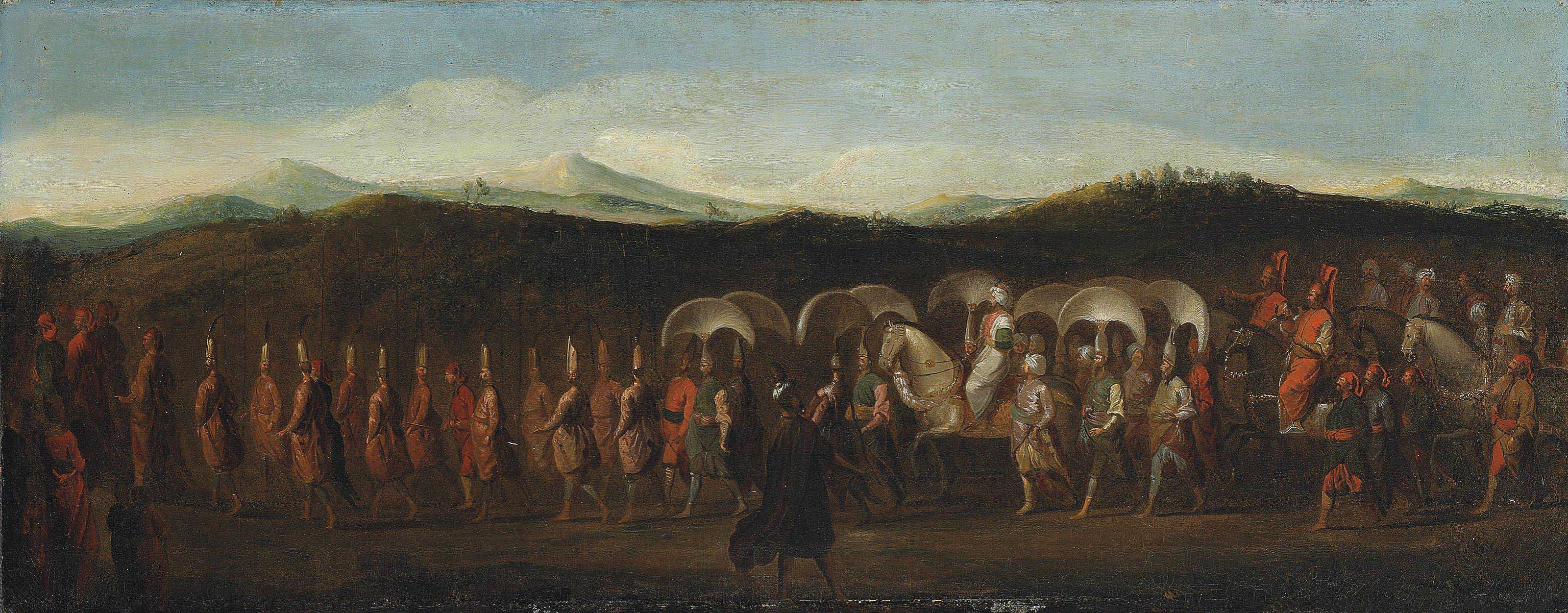 THE PROCESSION OF SULTAN AHMED