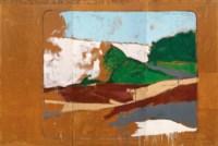 Grande particolare di paesaggio italiano a colori (Big Detail of an Italian Landscape in Colour)