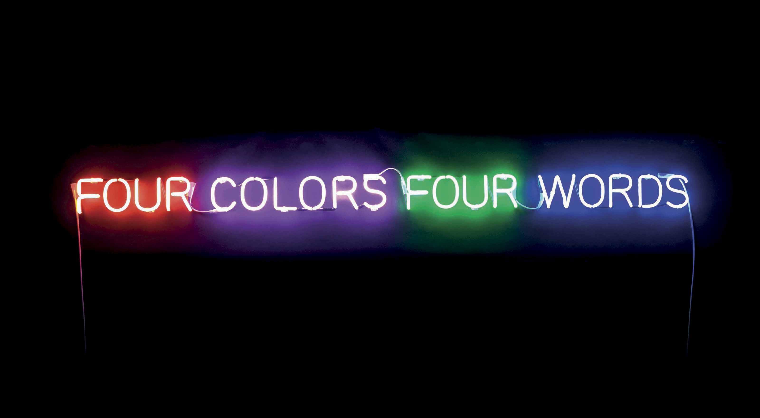 'Four Colors Four Words'