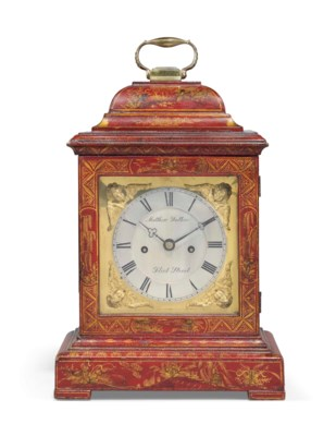 A GEORGE IV RED-LACQUERED STRI
