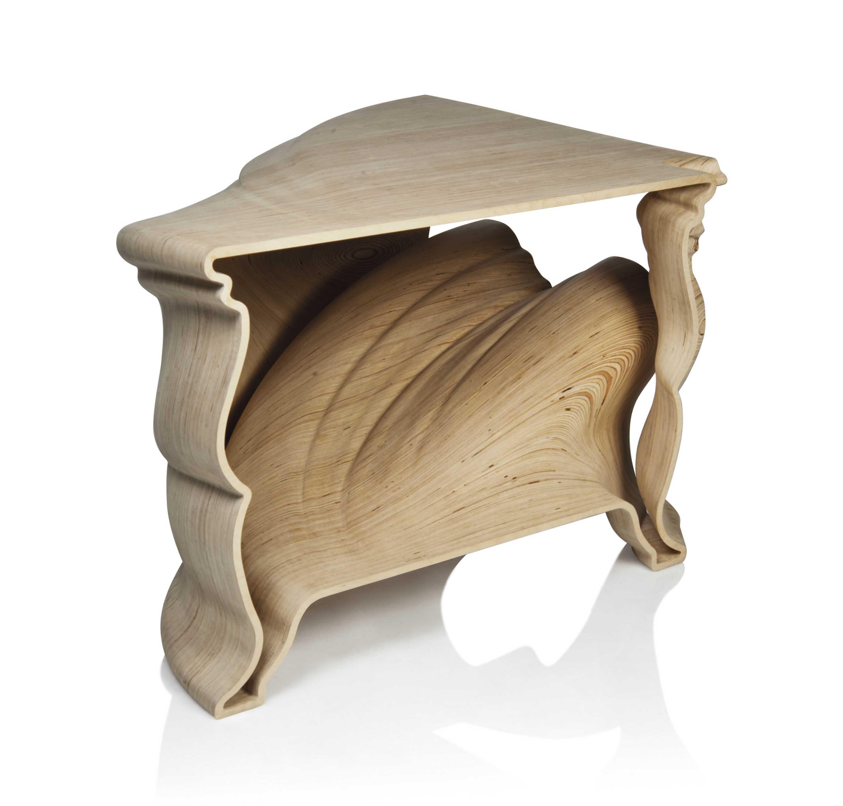 JEROEN VERHOEVEN b  1976 | 'CINDERELLA TABLE', 2004-2007 | Furniture