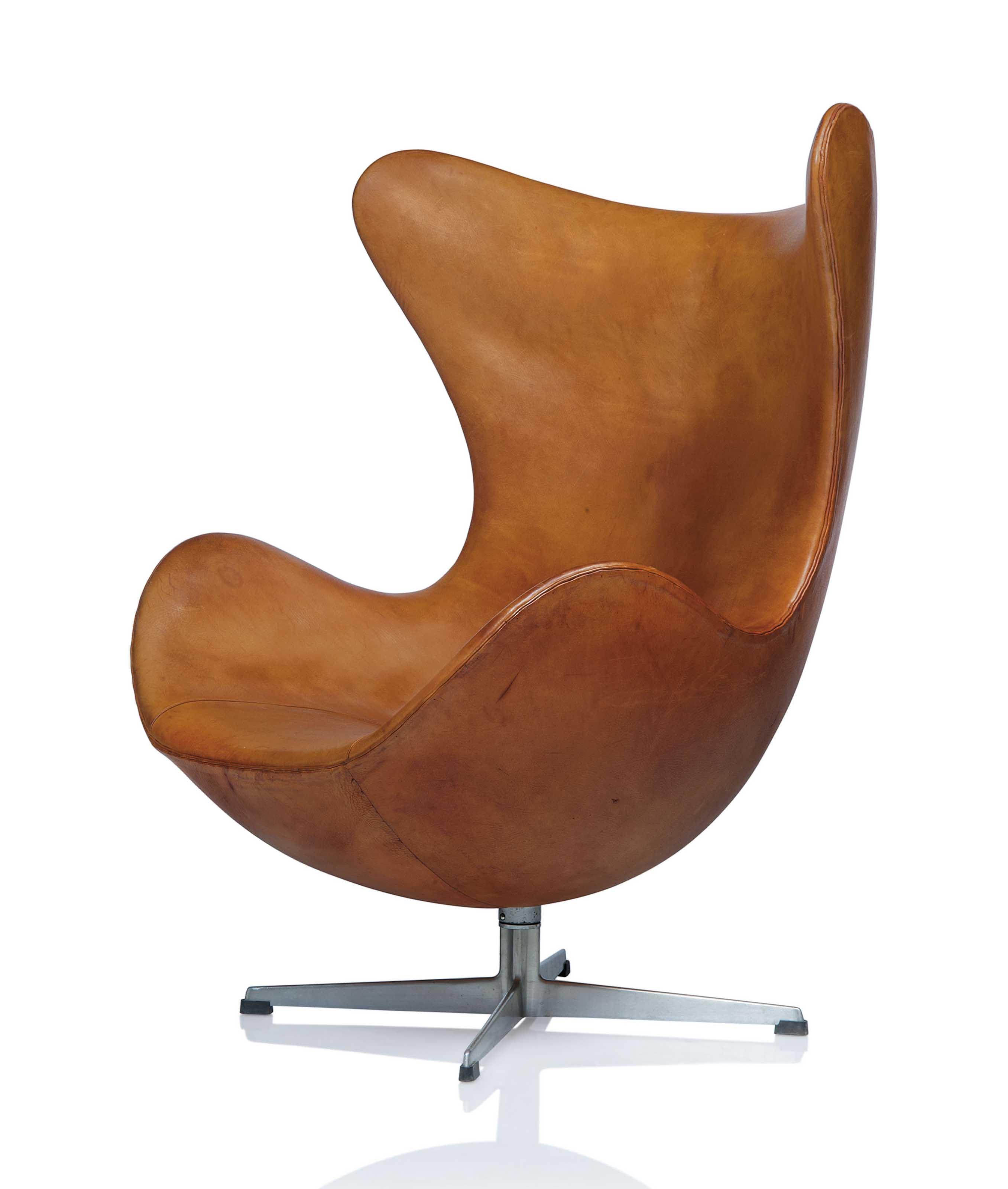 Egg Chair Arne Jacobsen Kopie.Arne Jacobsen 1902 1971 An Early Egg Lounge Chair Designed