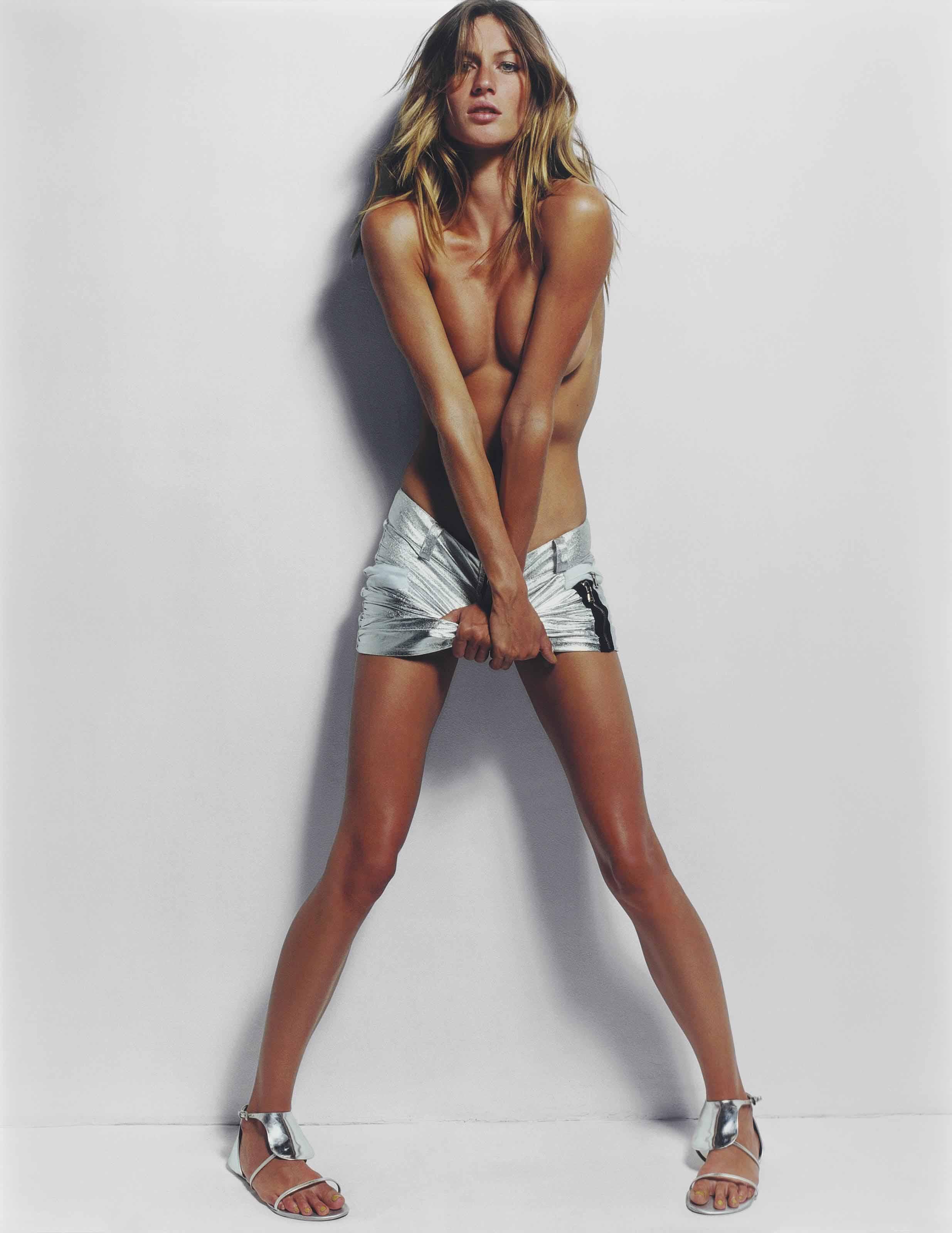 Gisele II, Paris Vogue, 2002