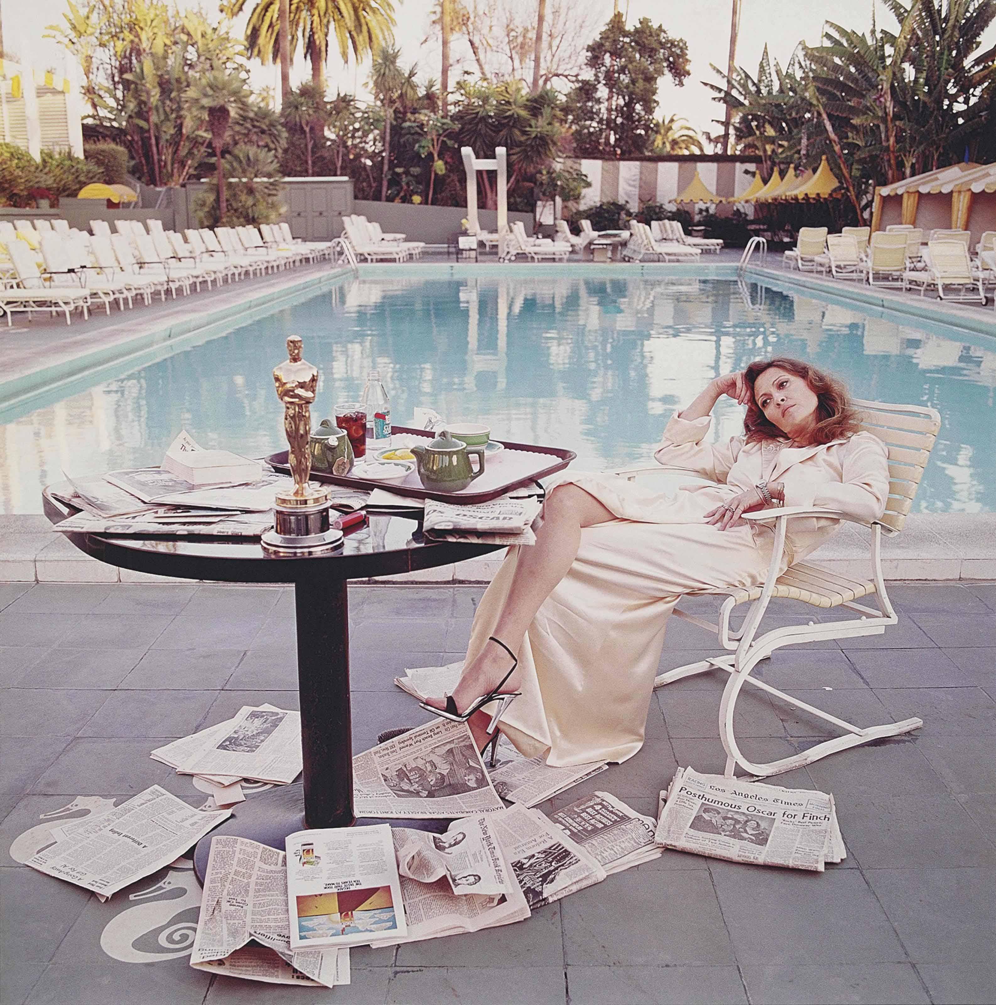 Faye Dunaway, Hollywood, 1977