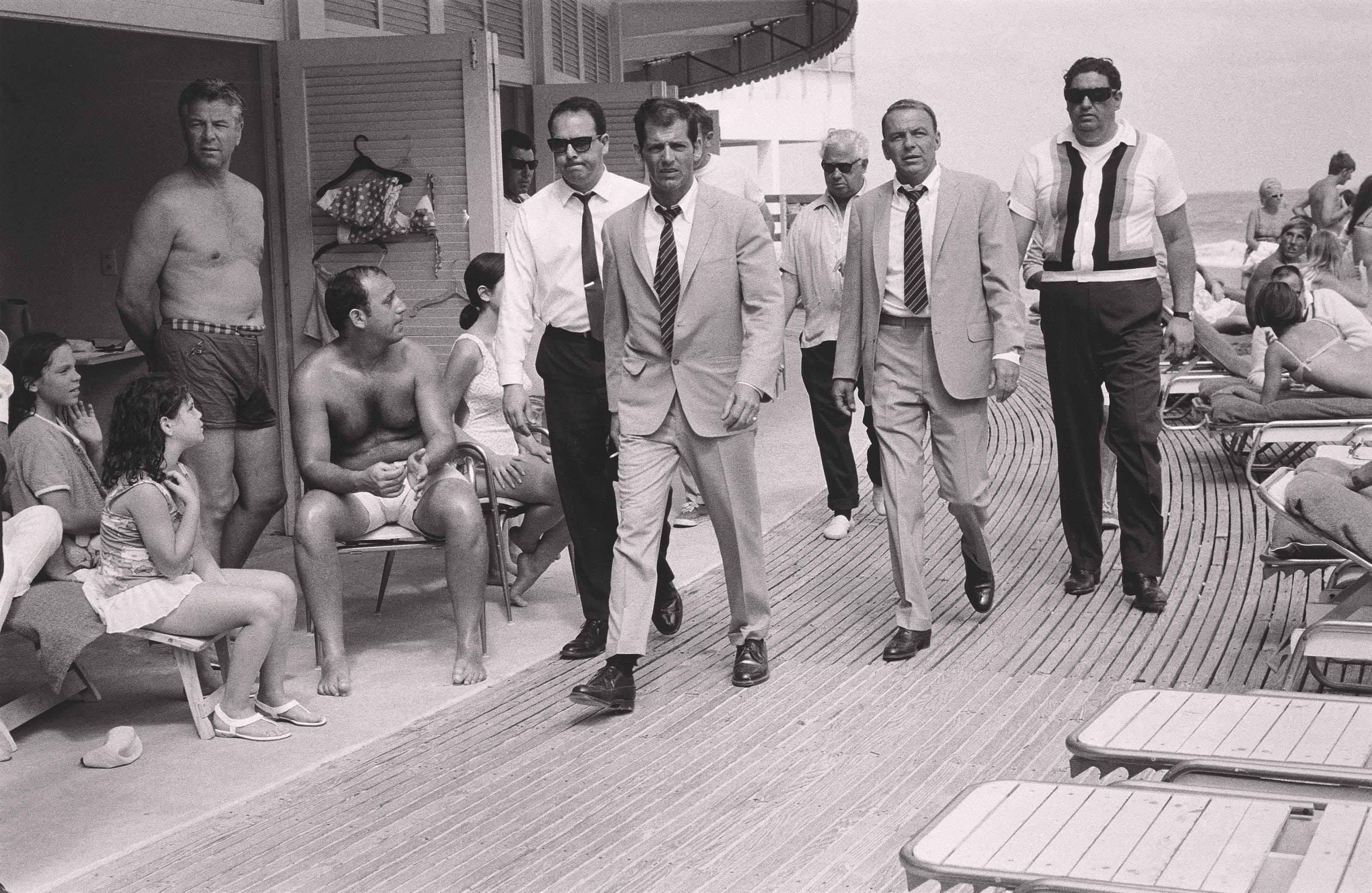 Frank Sinatra, Miami Beach, 1968