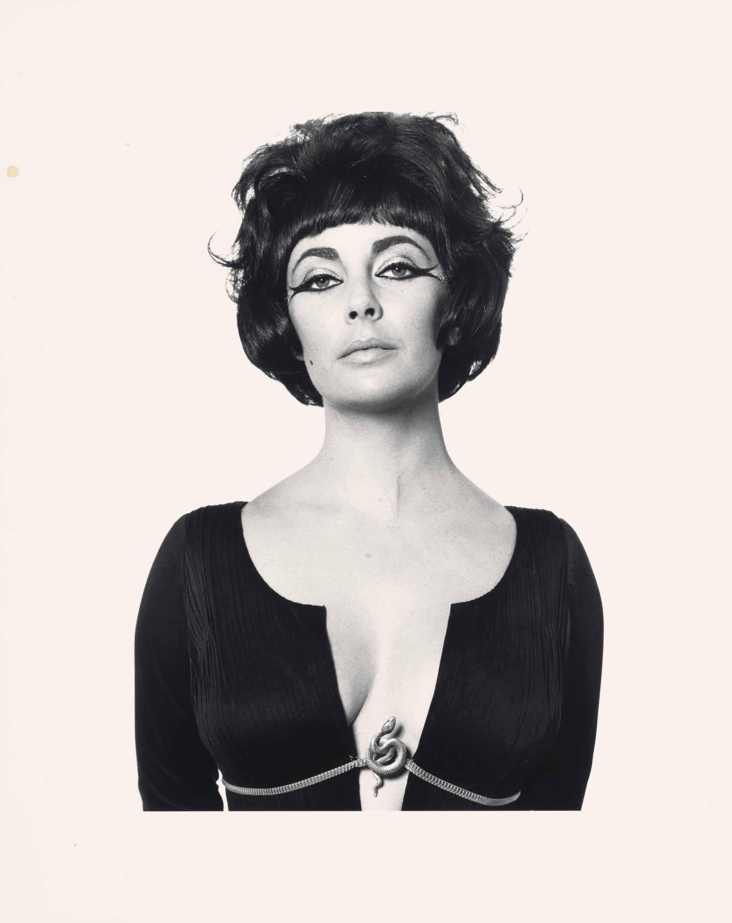 Elizabeth Taylor as Cleopatra, 1962