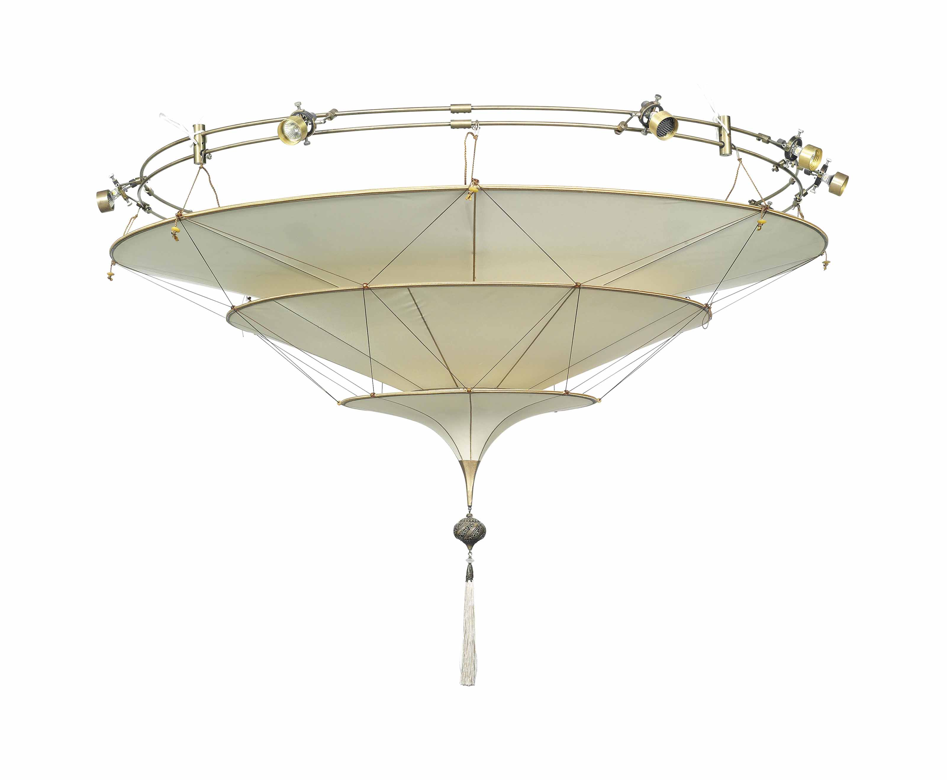 A three tier 39 scheherazade 39 ceiling light mariano - Fortuny real estate ...