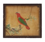 TWO CHINESE PAINTINGS OF BIRDS