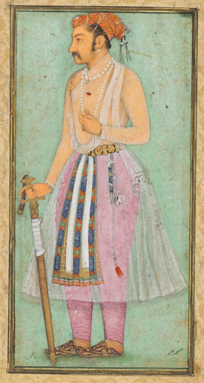 A PORTRAIT OF THE EMPEROR SHAH
