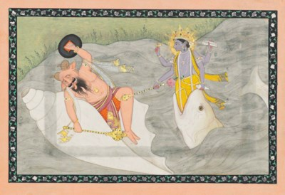 A PAINTING FROM A DASAVATARA S