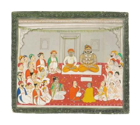 AN ASSEMBLY OF VAISHNAVA PANDI