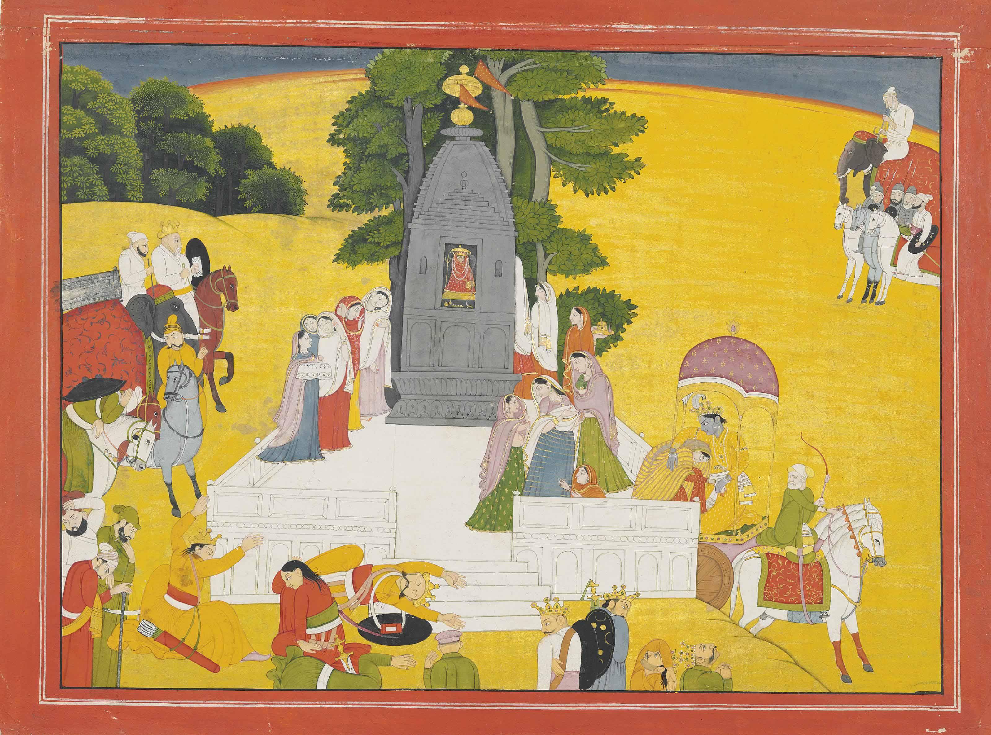 AN ILLUSTRATION TO THE BHAGAVA