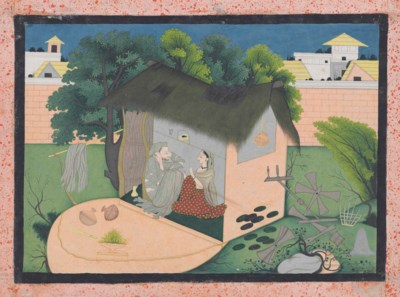 AN ILLUSTRATION TO A KRISHNA S