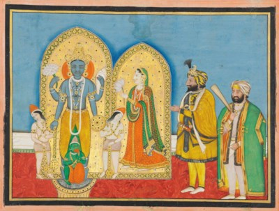 MAHARAJA RANBIR SINGH AND A CO