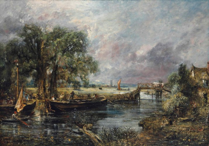 John Constable, RA (East Bergh