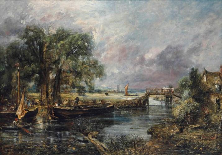 John Constable, RA (East Bergh