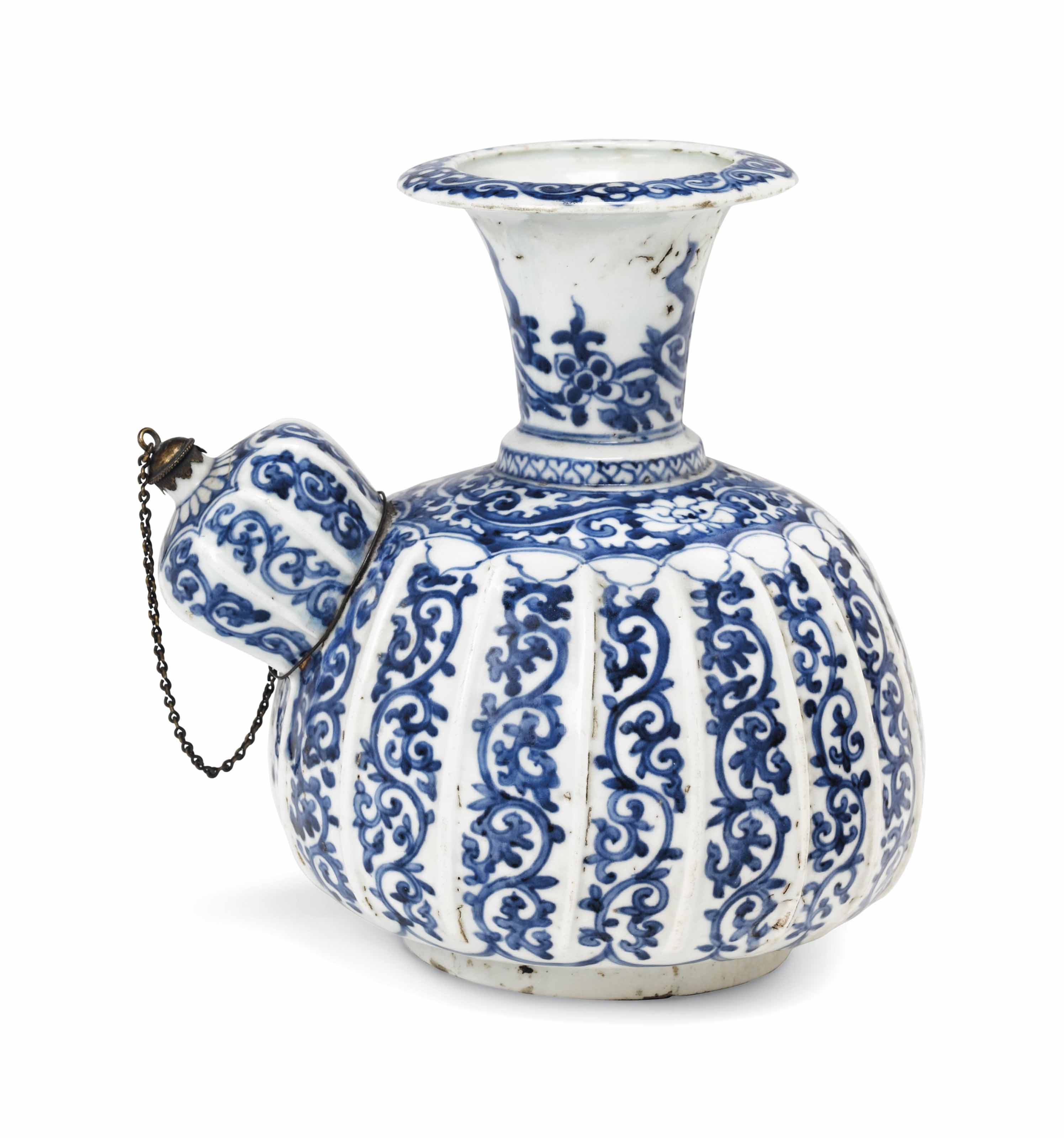 An Early Arita Kendi (Pouring Vessel) for the Vietnamese Market