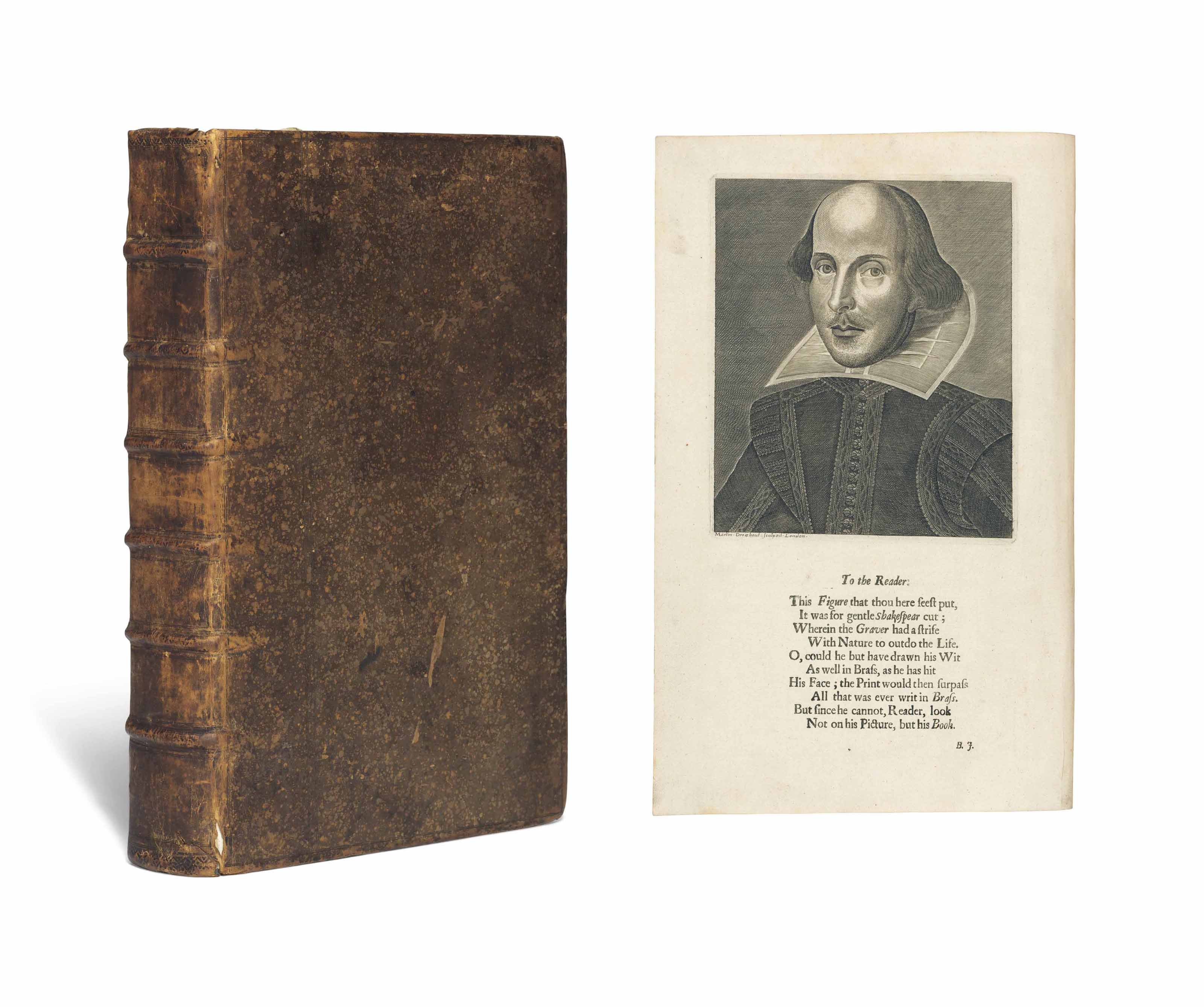 SHAKESPEARE, William (1564-1616). Comedies, Histories, and Tragedies. Published according to the true Original Copies. Unto which is added, Seven Plays, never before Printed in Folio. The Fourth edition. Edited by John Heminge (d. 1630) and Henry Condell (d. 1627), except for Pericles and six other plays added by the publisher of the Third Folio, Philip Chetwin (d. 1680). London: Printed [by Robert Roberts and others] for H. Herringman, E. Brewster, and R. Bentley, 1685.