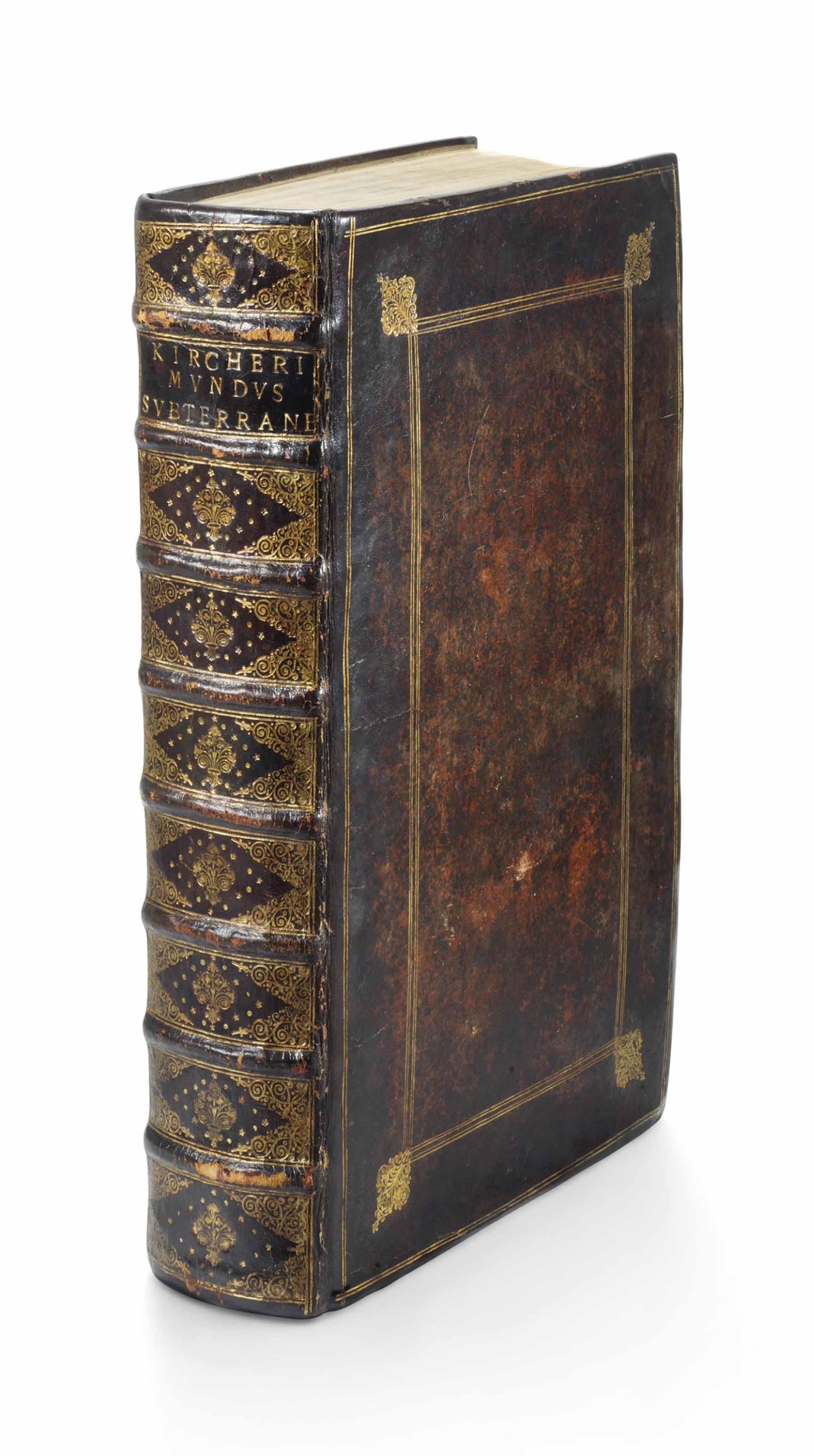 KIRCHER, Athanasius (1602-80). Mundus Subterraneus. Amsterdam: Joannes Jansson and Elizeus Weyerstraet, 1665.