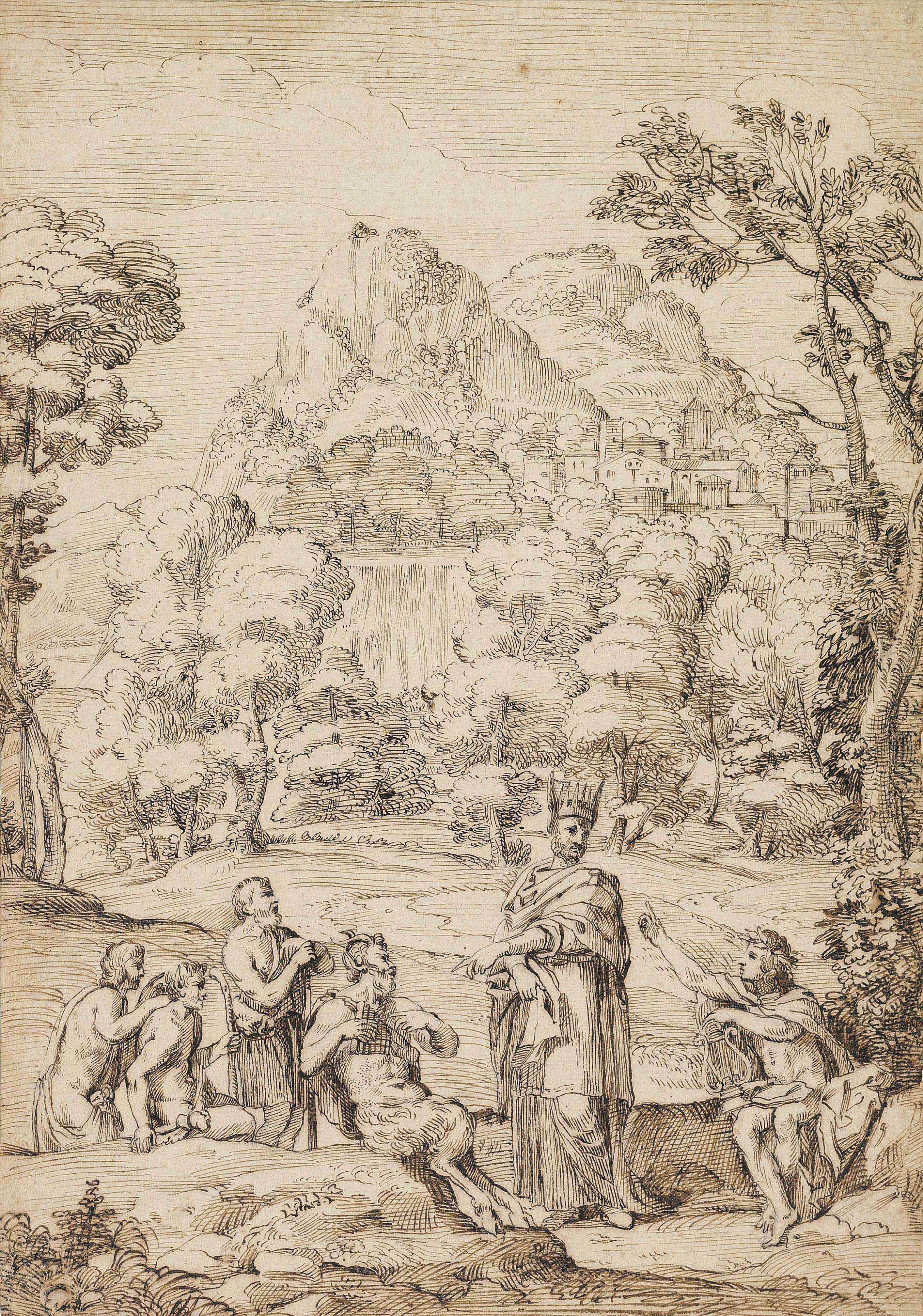Giovanni Francesco Grimaldi (Bologna 1606-1680 Rome)