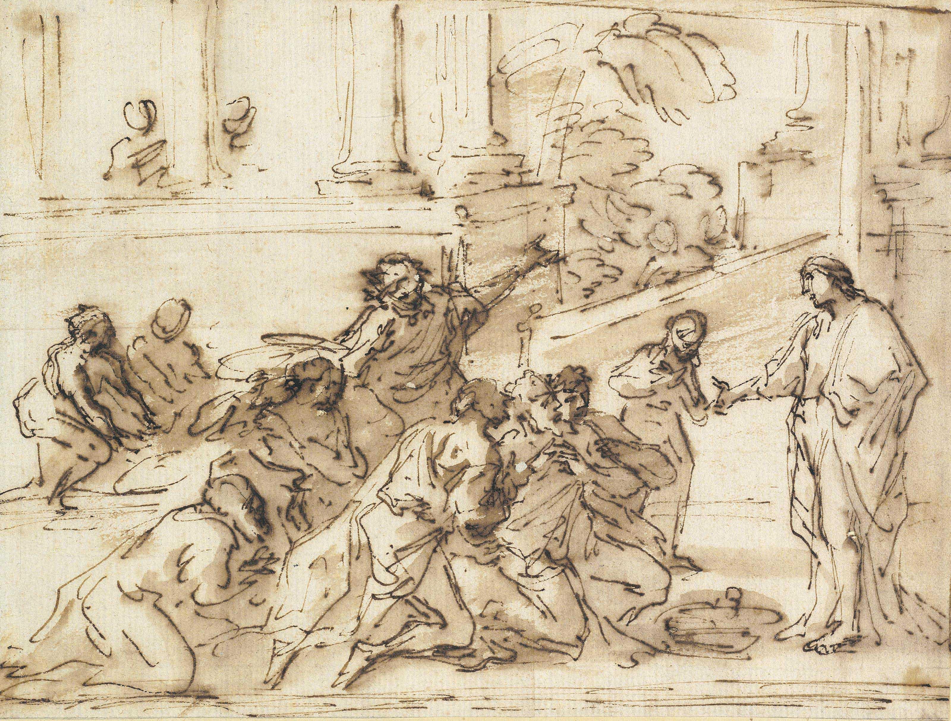 Pier Francesco Mola (Coldrerio 1612-1666 Rome)
