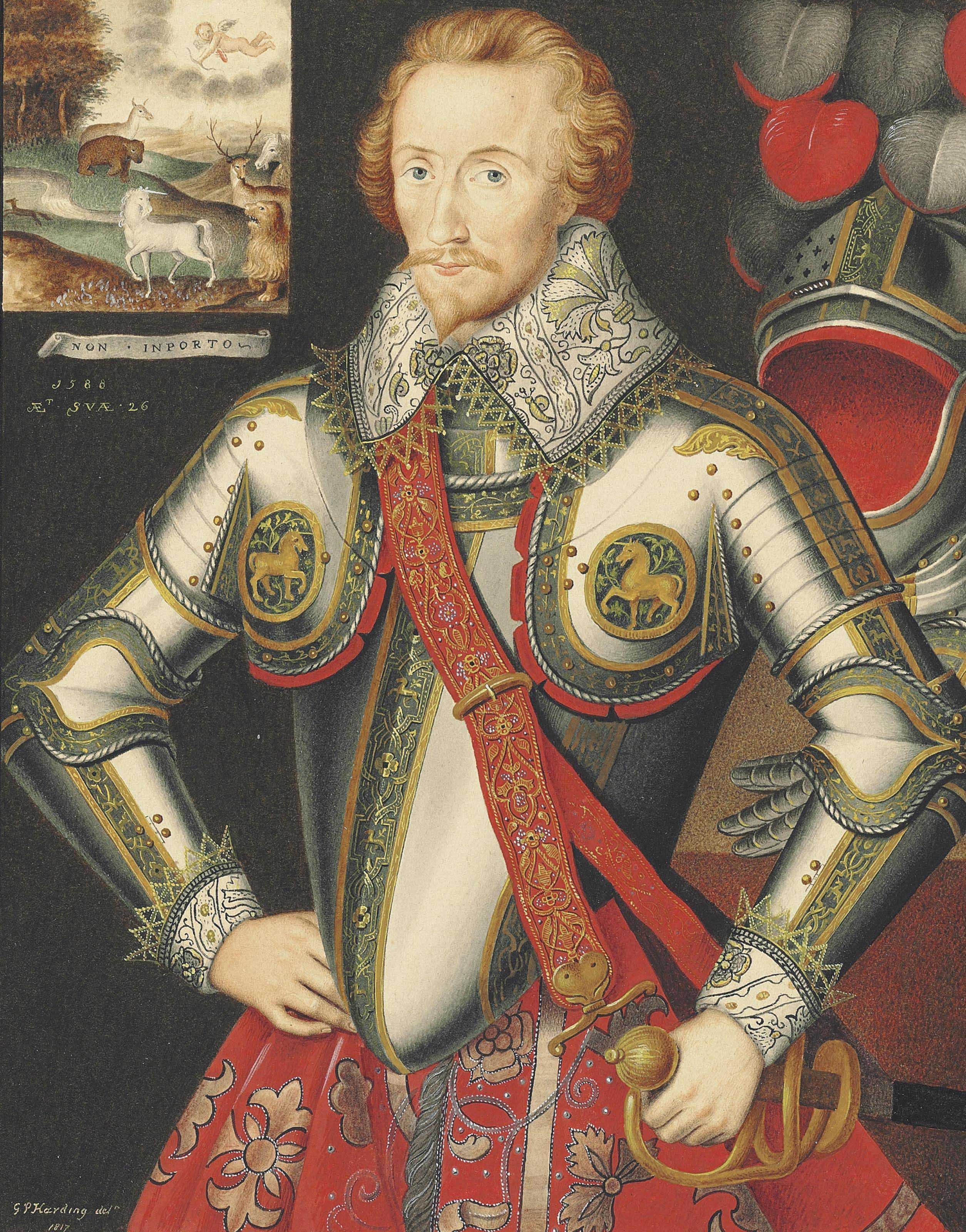 Portrait of Henry, 5th Lord Windsor (1562-1605), three-quarter-length, in armour