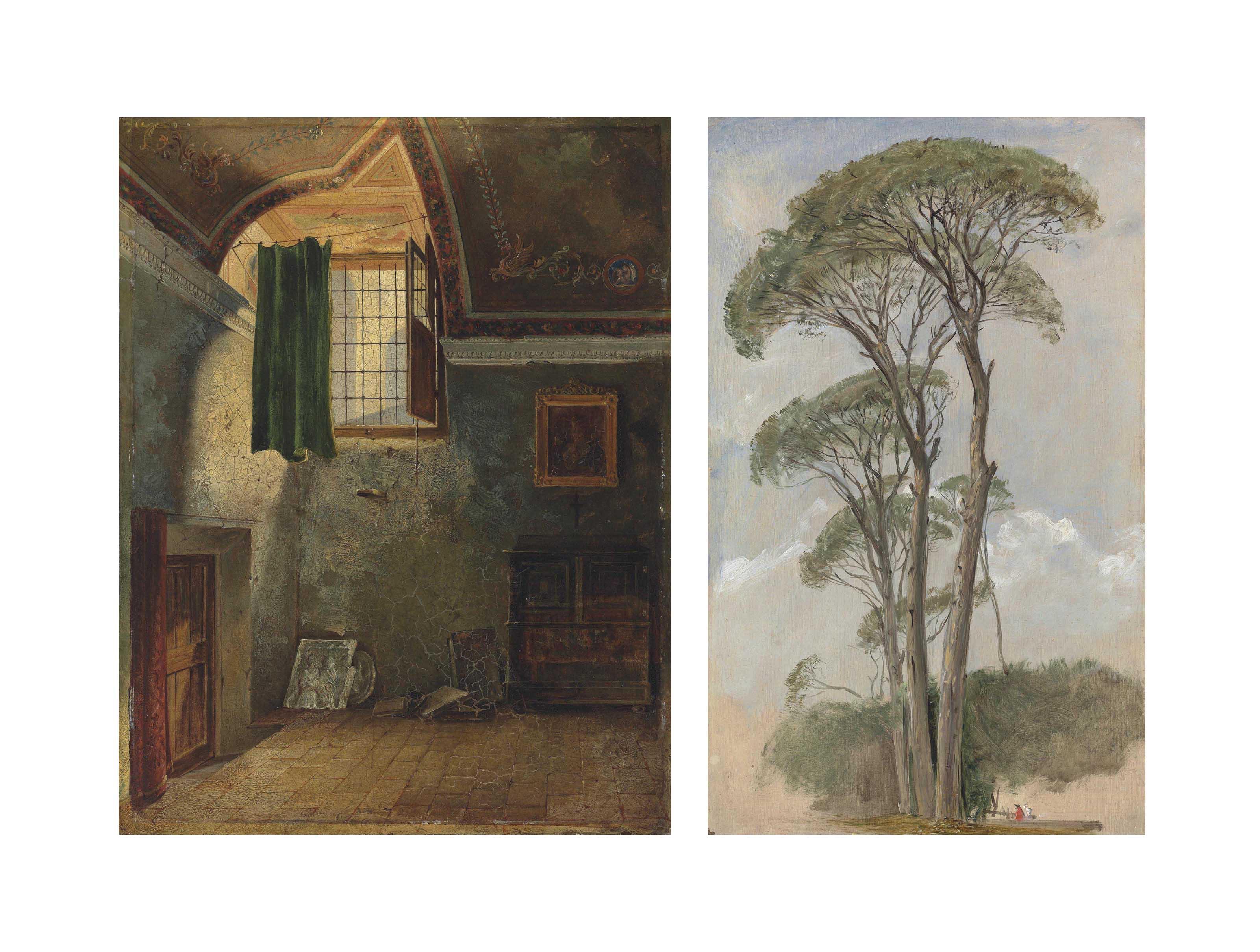 Michelangelo's Study, Rome