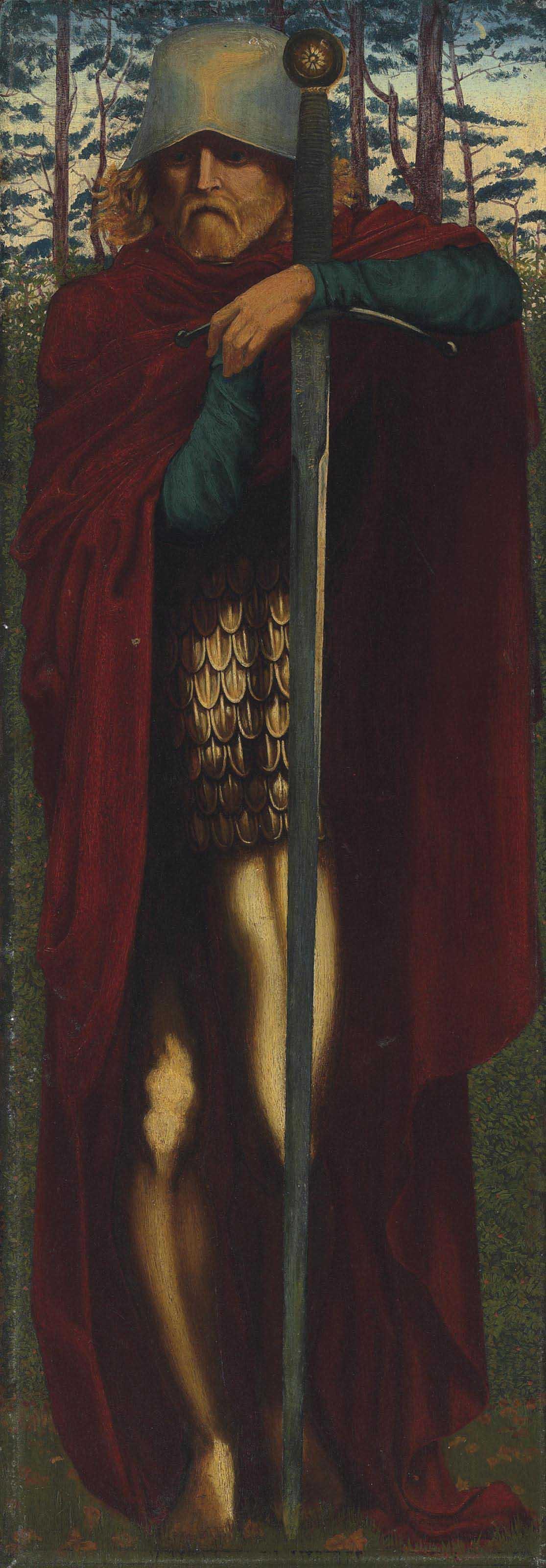 An Arthurian knight