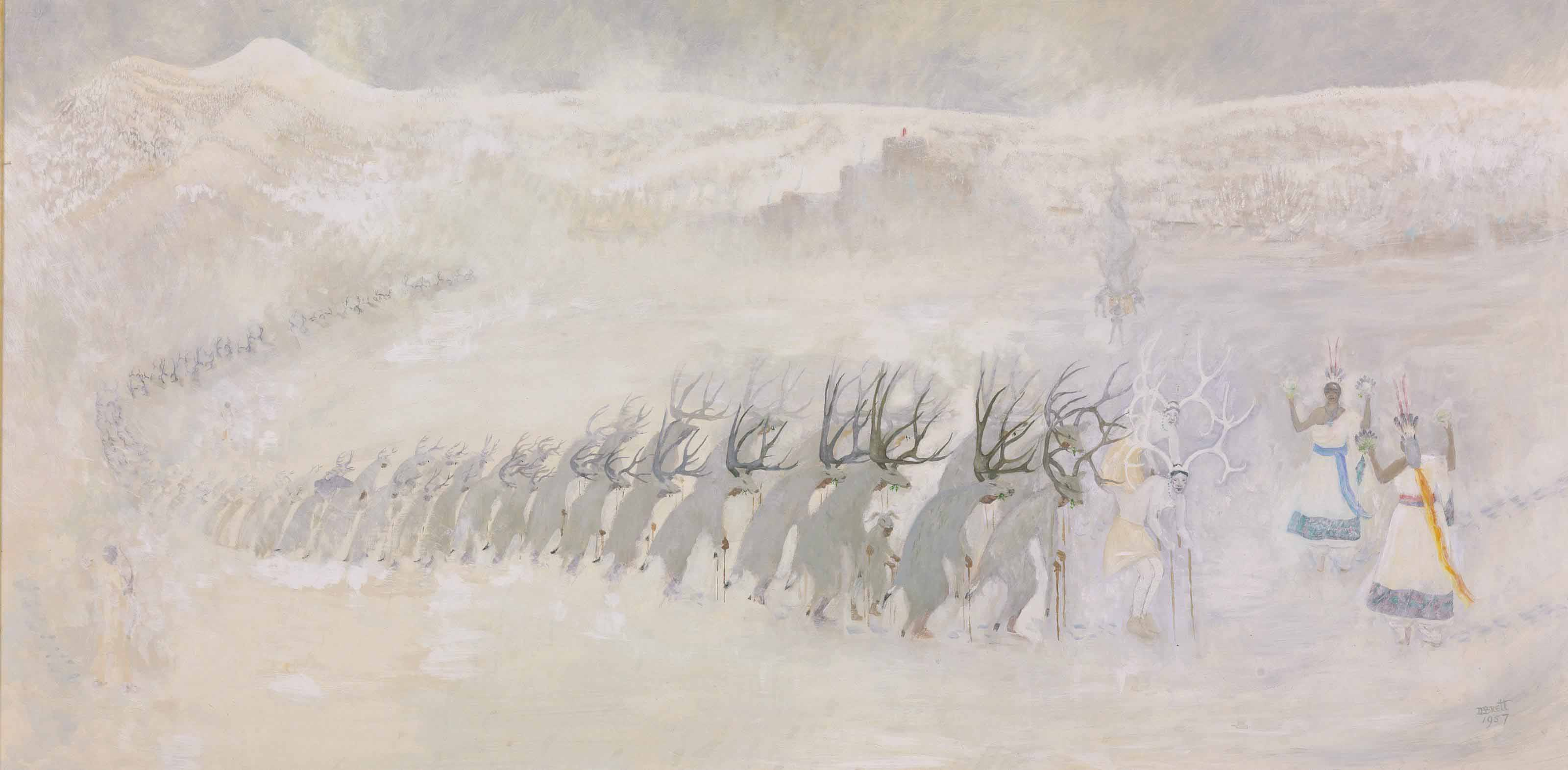 The Deer Procession
