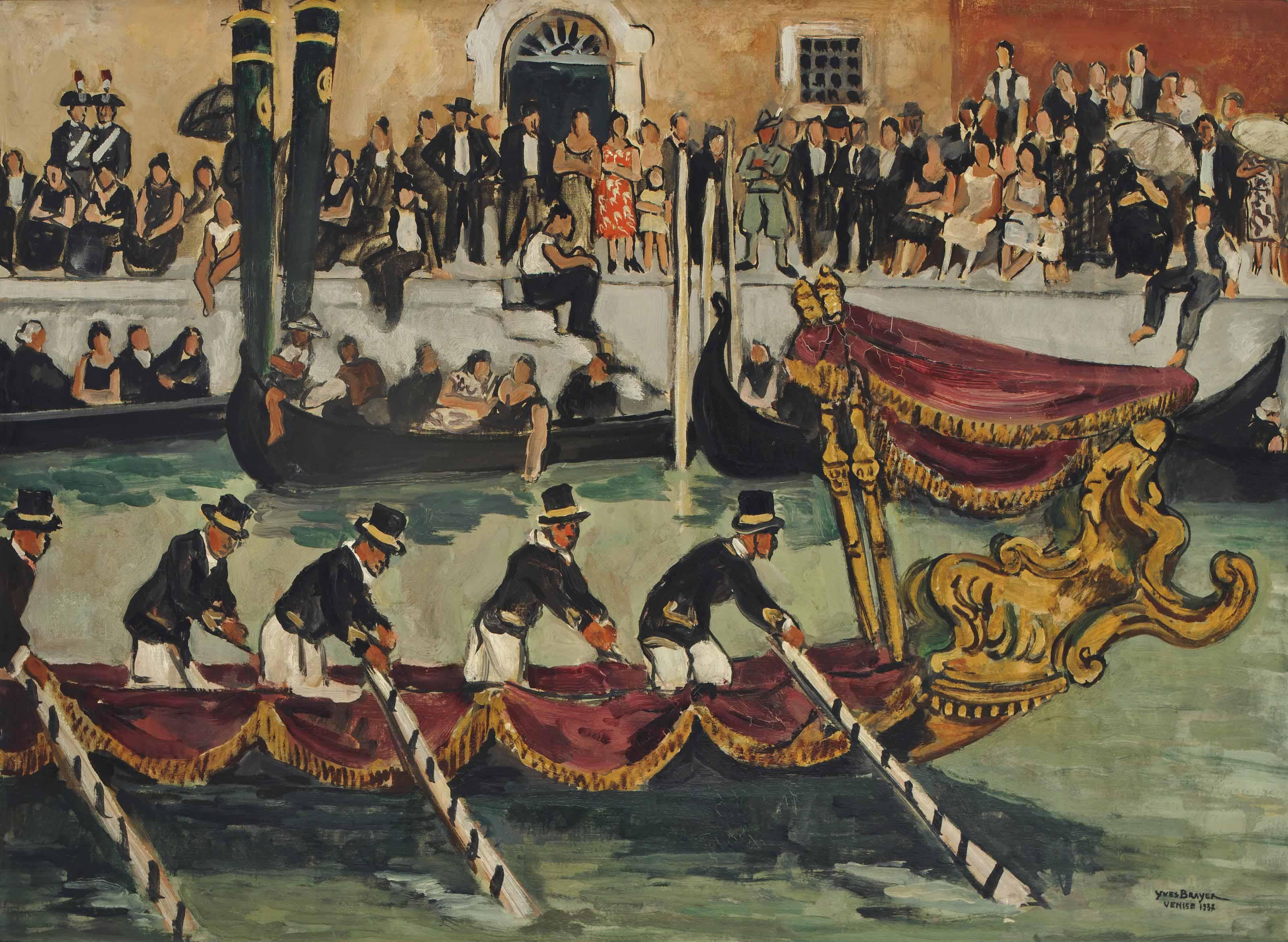 Régates à Venise