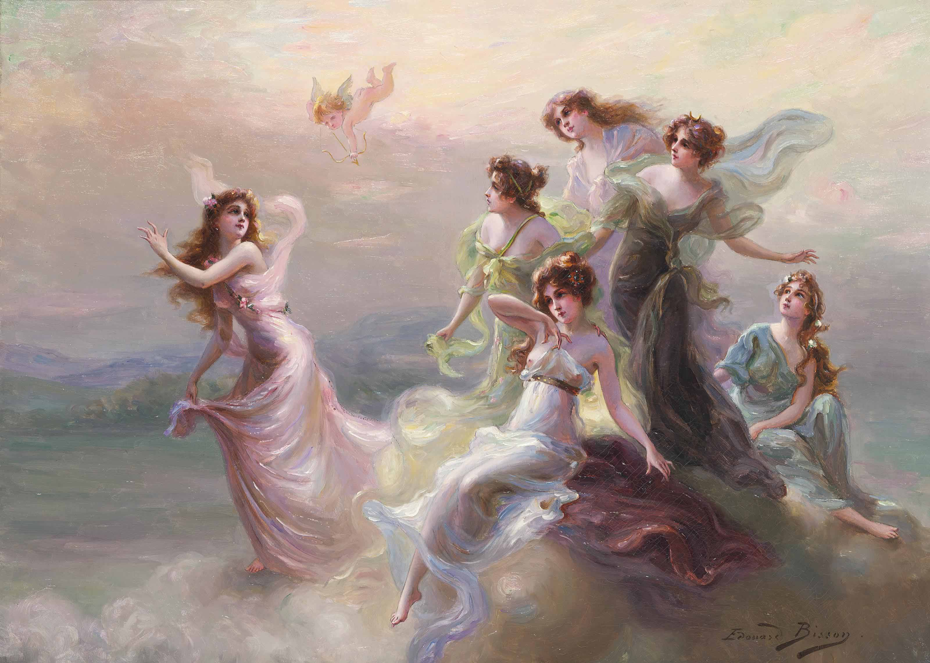 The dance of the nymphs
