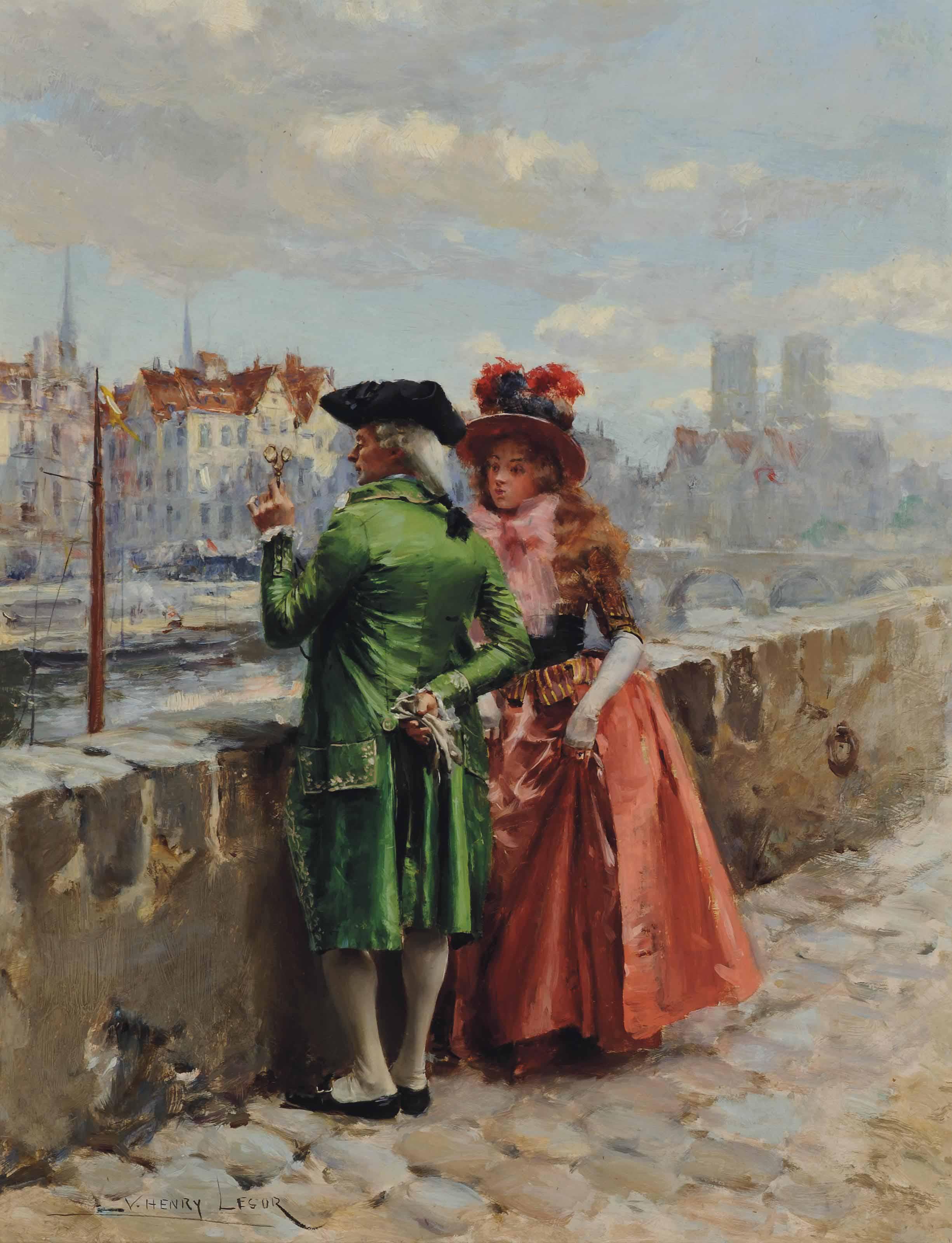A stroll by the Seine, Paris