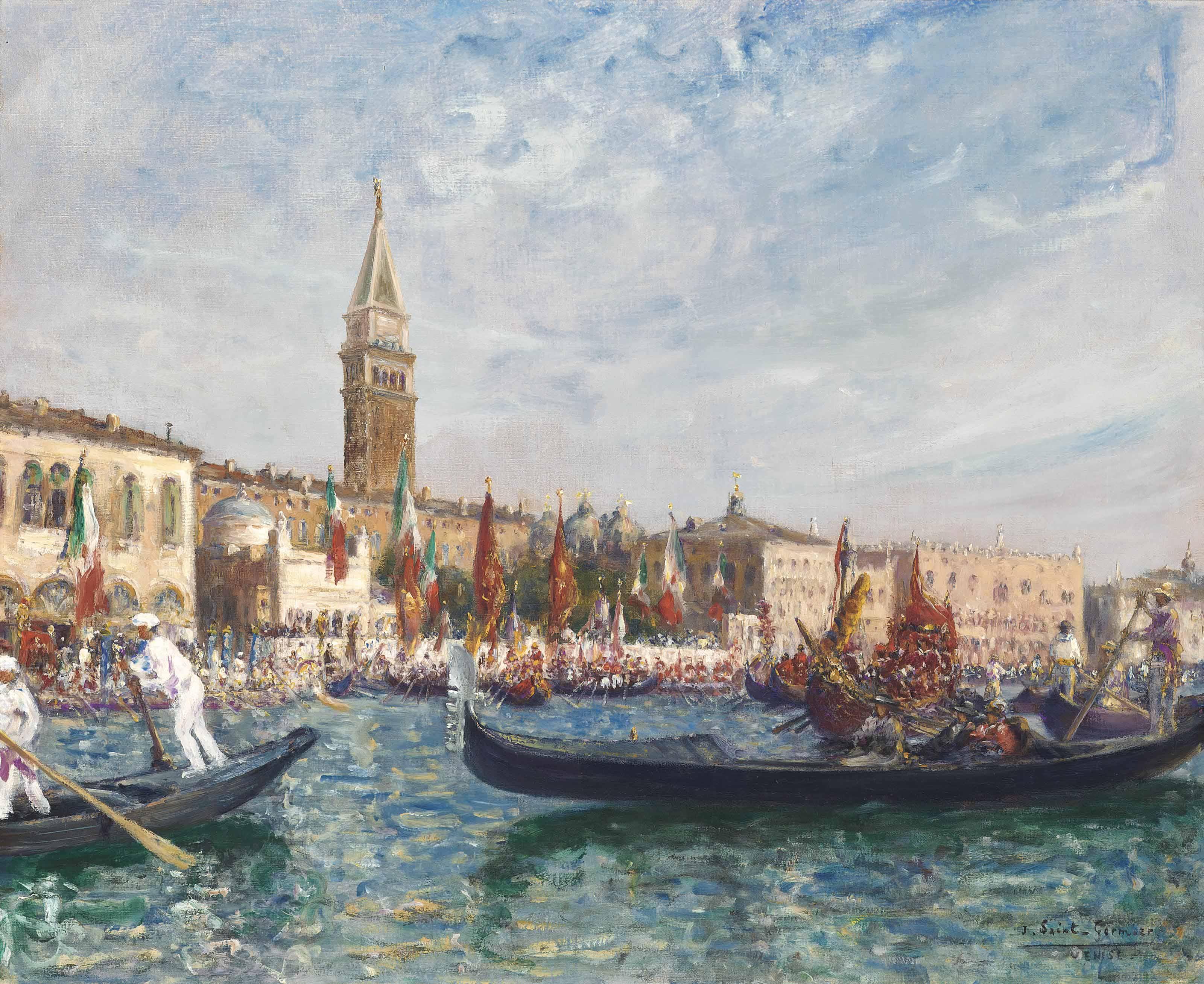 La fête de l'Adriatique à Venise