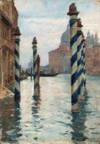 On the Grand Canal, Santa Maria della Salute beyond