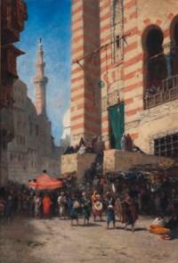 A procession in Cairo