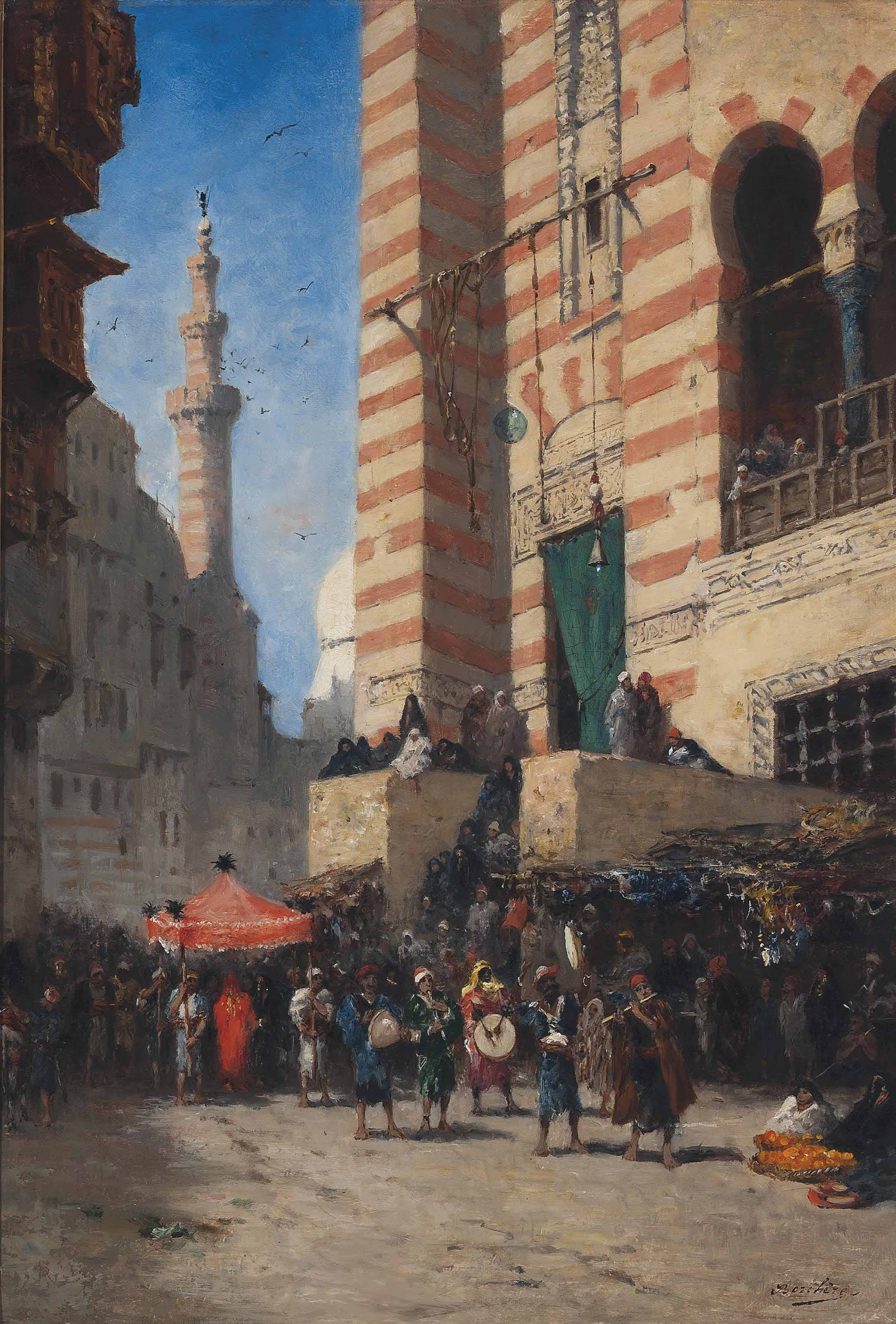 A procession in Cairo