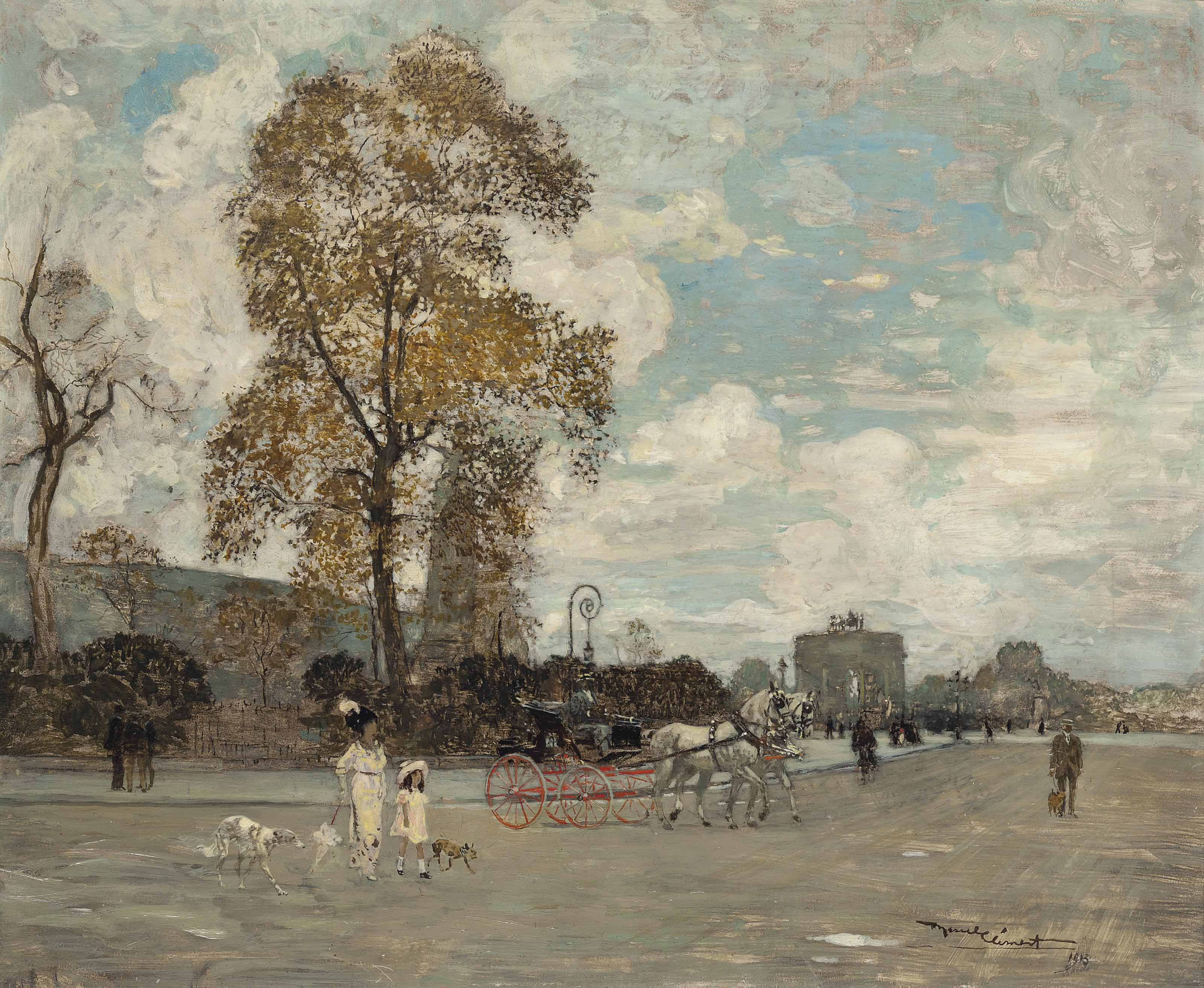 Place du Carrousel, Paris