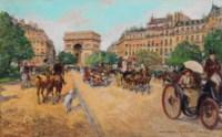 L'Arc de Triomphe, Avenue Foch, Paris
