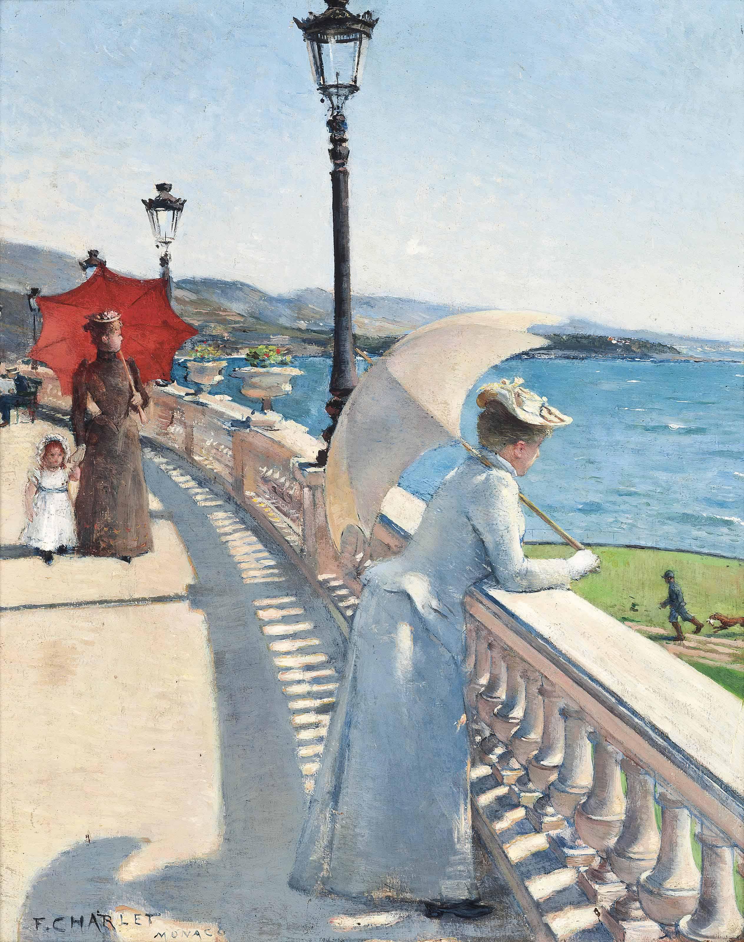 A promenade in Monaco