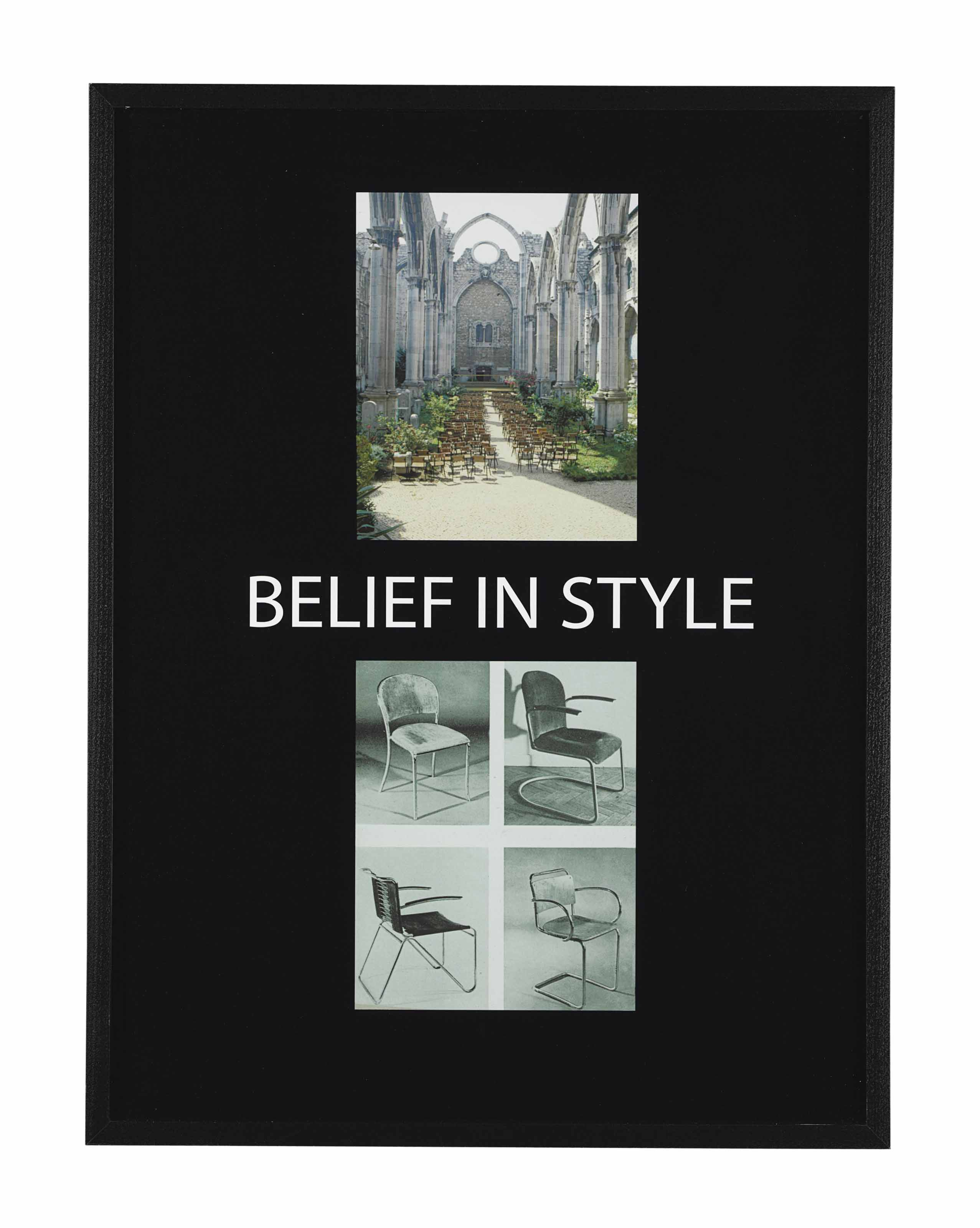 Belief in Style