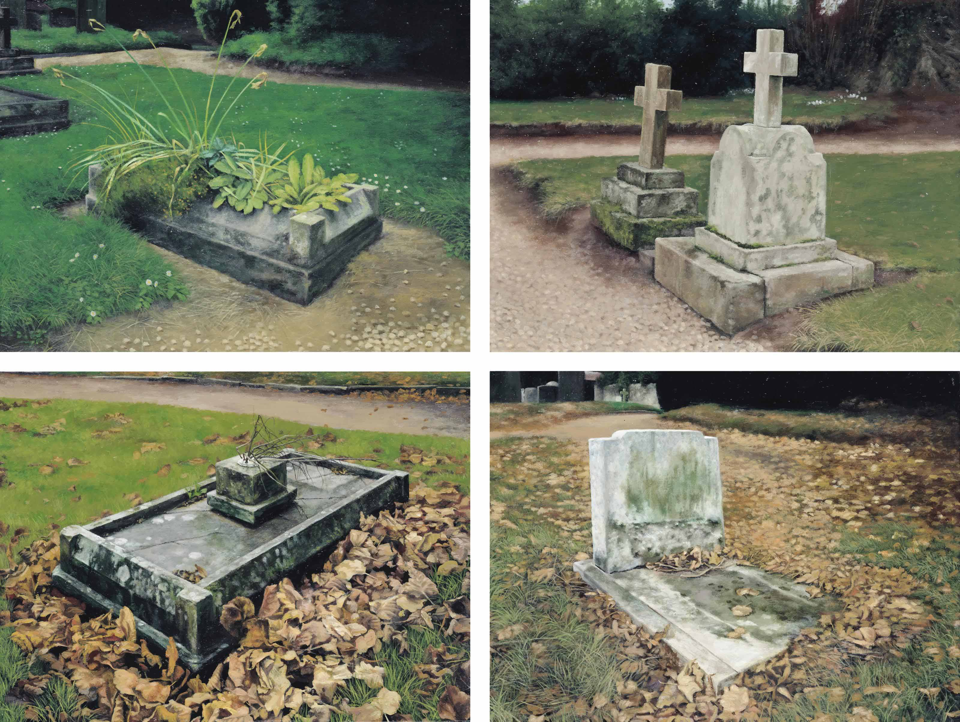 (i) The Little Graves I (ii) The Little Graves II (iii) The Little Graves III (iv) The Little Graves IV