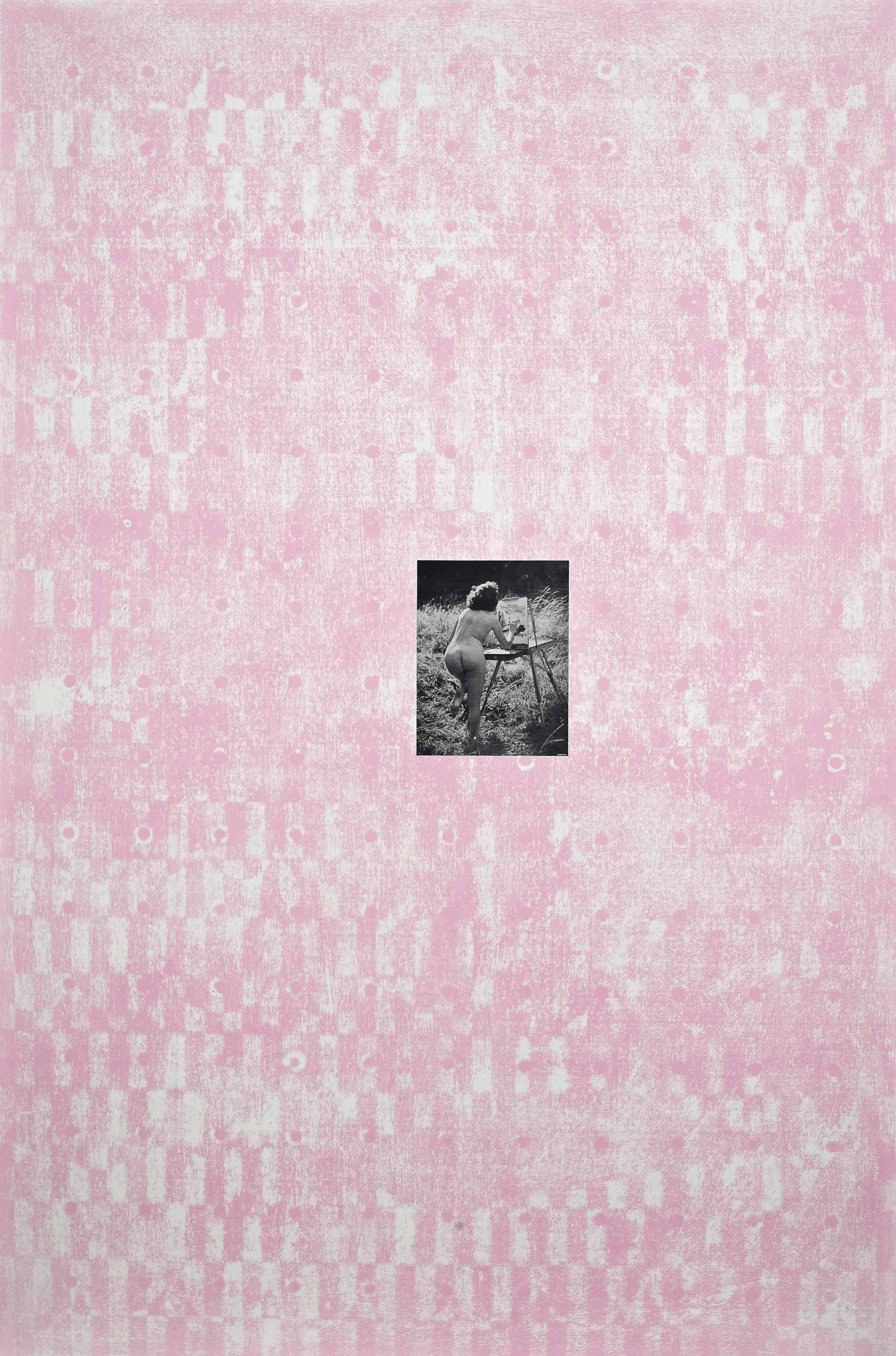 Pink Bum (Plein Air)