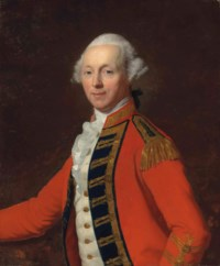 Portrait of an officer, half-length, in the uniform of one of the Regiments of Life Guards