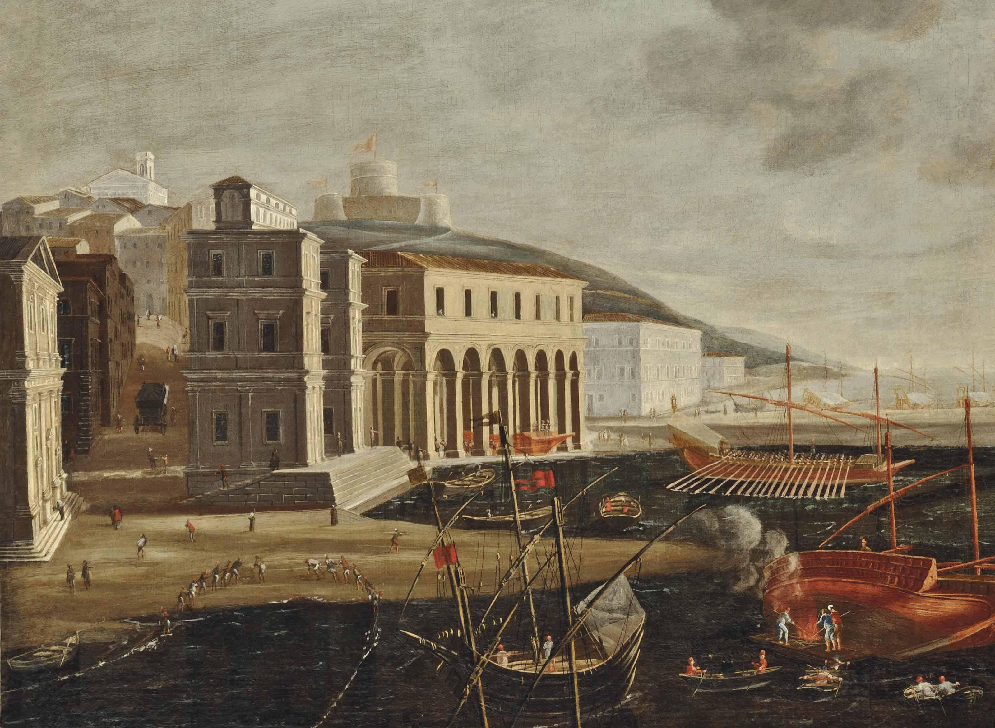 Agostino Tassi (Ponzano Romano 1580-1644 Rome)