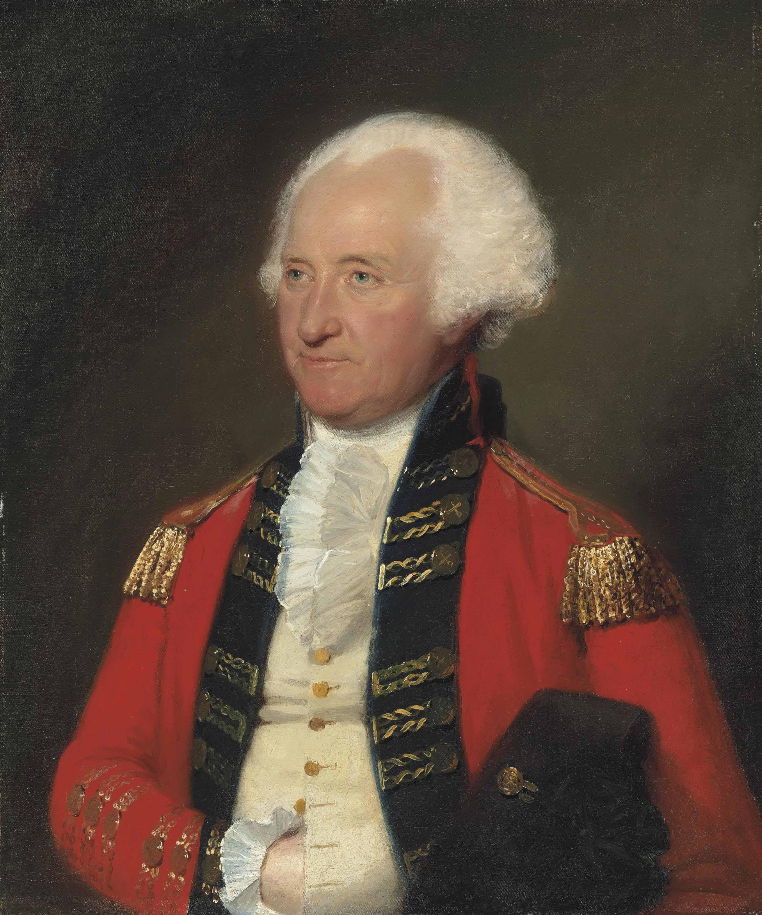 Portrait of General James Pattison (1723-1805), half-length, in military uniform