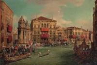 A Regatta on the Grand Canal, Venice