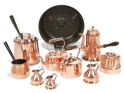 A COLLECTION OF PEWTER TAVERN